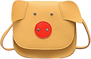 Wultia - Bags for Women 2019 Women's Womens Messenger Bag Animal Pattern Bag Shoulder Bag Wallet Phone Case Bolsa Feminina Yellow