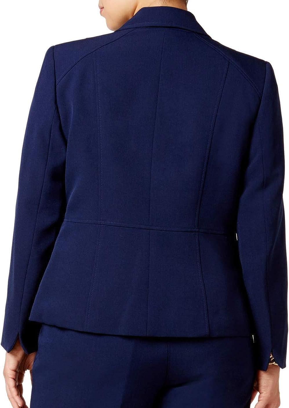 Kasper Women's Plus Size Two Button Jacket