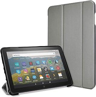 TECHGEAR Smart Case voor alle nieuwe Amazon Fire HD 8/HD8 Plus (2020/10e generatie) Slim Smart Case Tri-fold Stand Cover m...