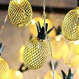 MoKo Ananas String Lights, 3m/9.6ft 20 LED Wasserdicht Lampe 2 Lighting Modes, Batteriebetrieben...