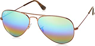 Ray Ban Aviador Rainbow 3025 9018/C3 - Óculos de S