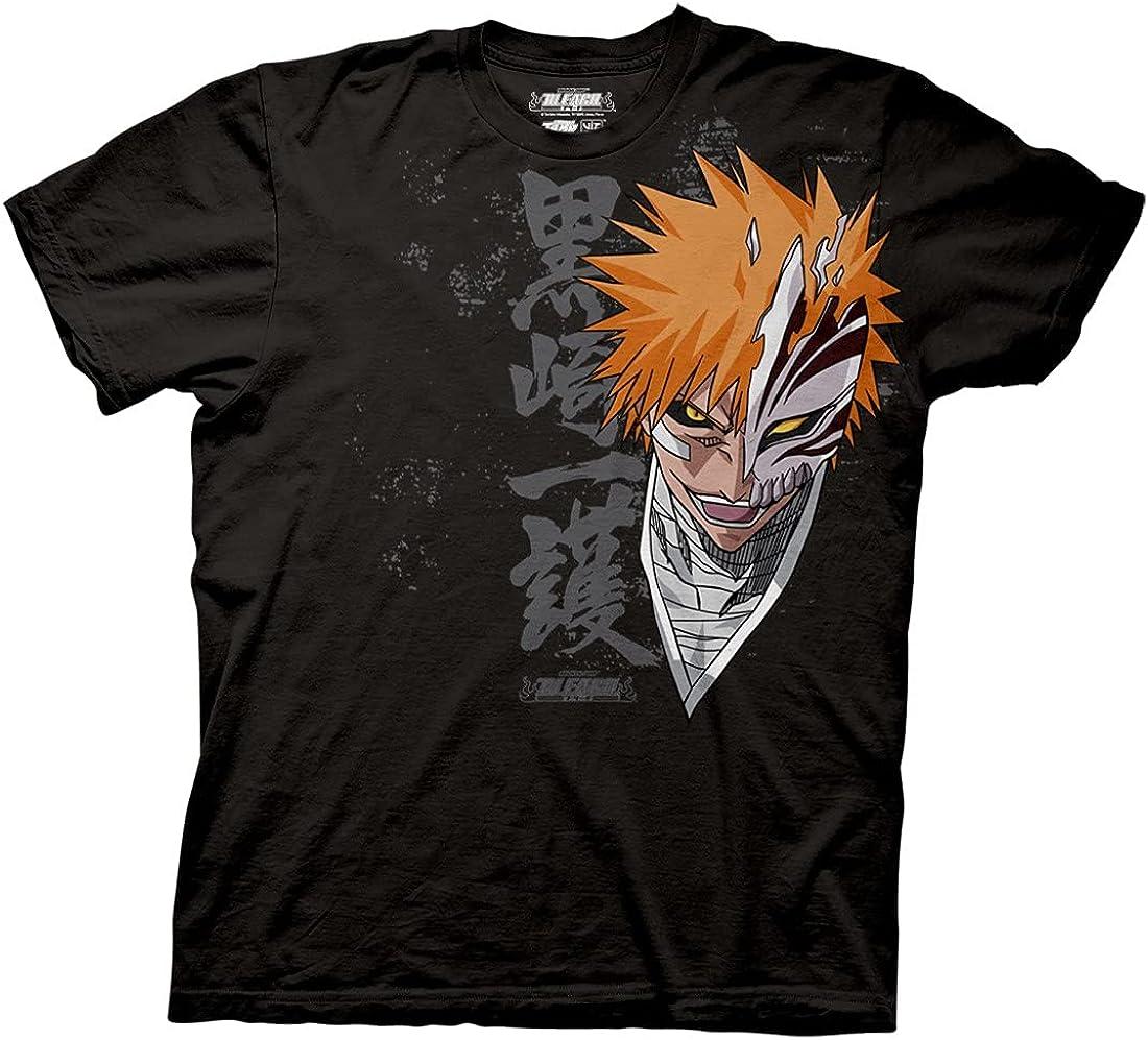 Ripple Junction 55% OFF Bleach Ichigo T-Shirt Closeup New mail order Adult