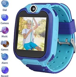 Kids Smartwatch Children Phone Smart Watch Two-Way Call SOS Games Camera Music Player 1.54 inch Touch Screen Boys Girls Gift …