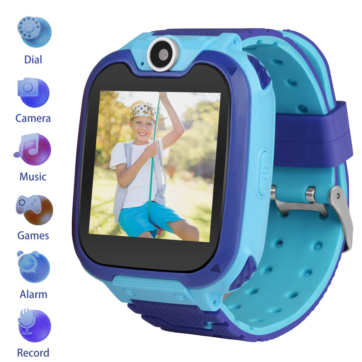 CMKJ Kids GPS Watch