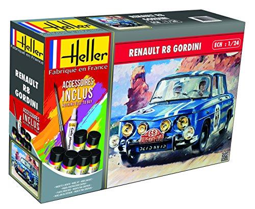 Heller Maquette, 56700, renault r8 gordini,1/24