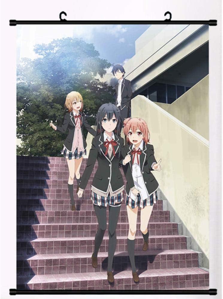Oregairu season 3 Anime Wall Scroll Poster Art Home Room Decor collection Gift