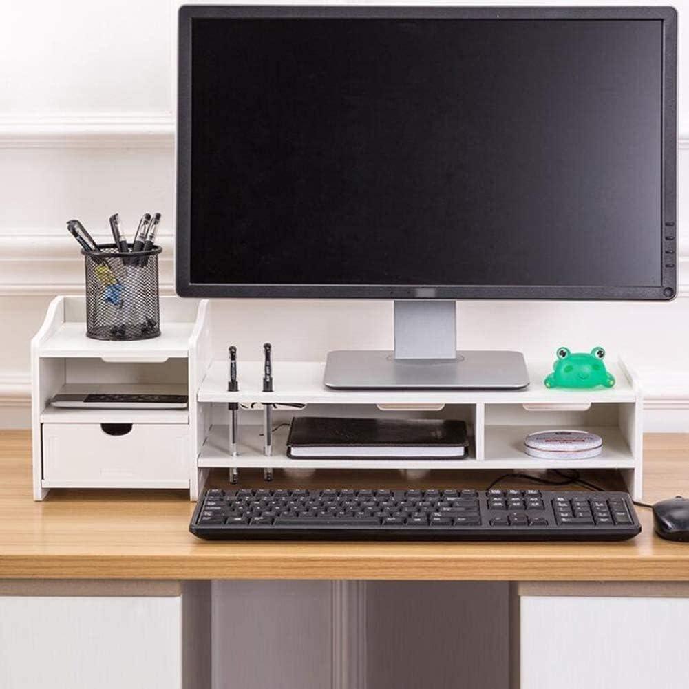 Award Luxury ZhanMa Monitor Risers Stand with Multif Drawer Ergonomic