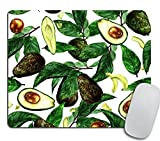 Avocados Mouse Pad, Rectangle Mousepad Custom Design Gaming Mouse Pad Rubber Oblong Mouse Mat 9.5X7.9 inches