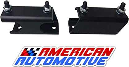 American Automotive 2011-2019 F250 F350 Super Duty 4WD Sway Bar Drop Bracket Kit for 2-4