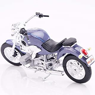 Kikioo Toys For Kids Adults Simulation Hobby Toys Vehicles H2R 696 Great Devil Classic Toys Alloy Motorcycle Model 1:18 Ca...