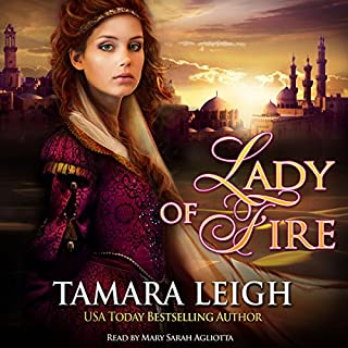 Lady of Fire audiobook cover art