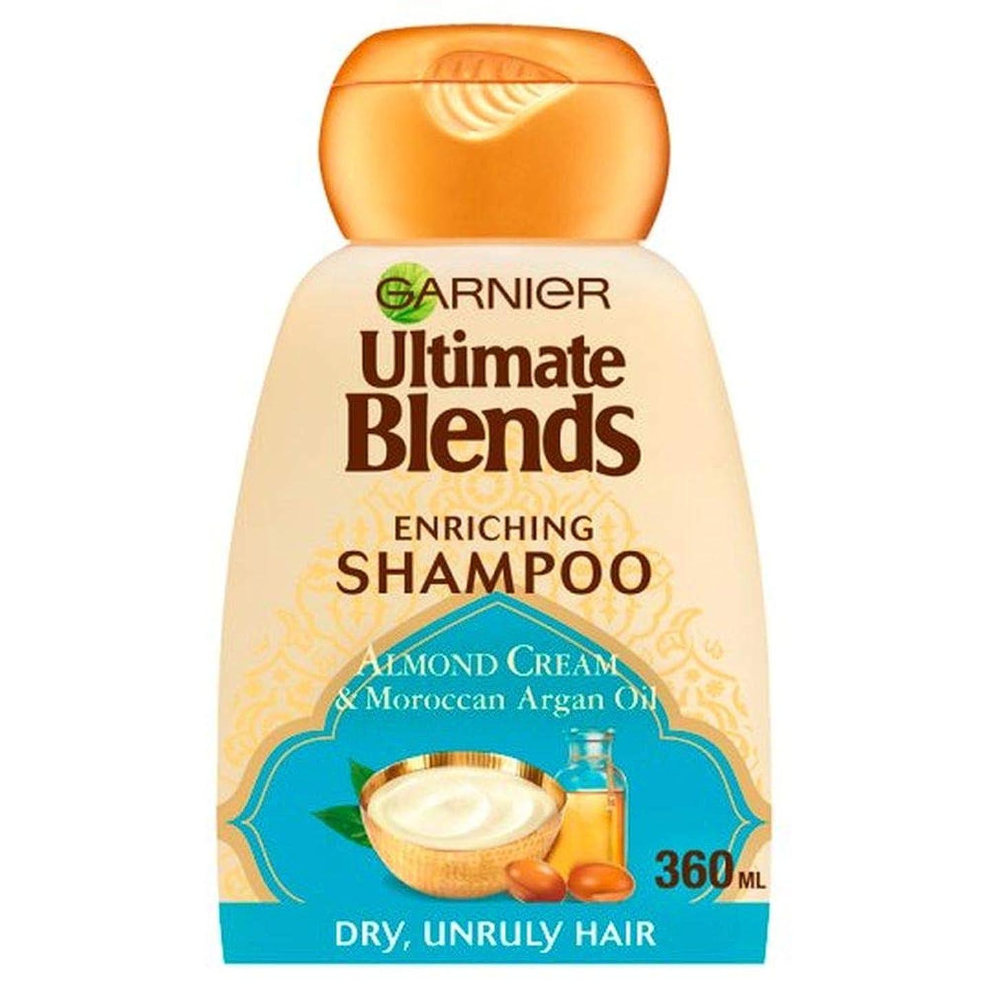 ペーストジャンル牽引[Garnier ] Ga/究極のブレンドのArg /オイルとアーモンドシャンプー360ミリリットルRを - Ga/R Ultimate Blends Arg/Oil And Almond Shampoo 360Ml [並行輸入品]