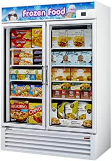 49cf Commercial Freezer Glass Door Merchandiser White