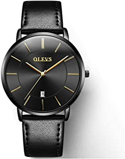 OLEVS Men's Ultra Thin Fashion Minimalist Wrist Watches...