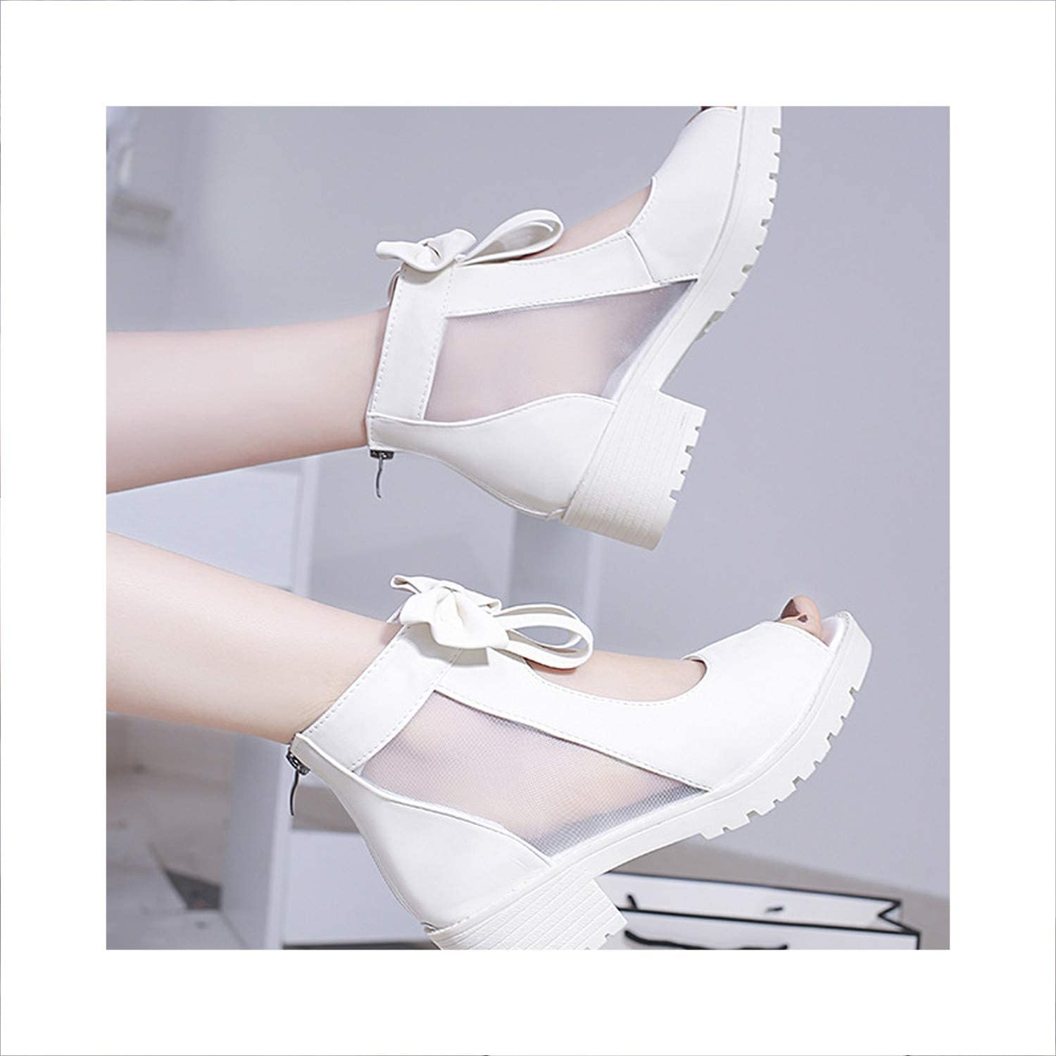 Women Classic Sexy Sandal Female Fish Mouth Dress Sandals Lady shoes