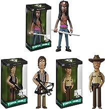 Funko Walking Dead Rick Grimes, Daryl Dixon and Michonne Vinyl Idolz Figures Set of 3