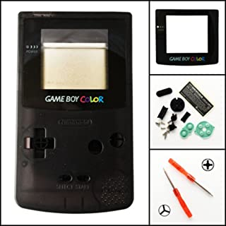 game boy color clear black