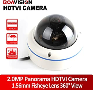 Full View 180/360 Degree Fisheye 2.0MP Panoramic HDTVI Camera Outdoor 1080P Lens CCTV