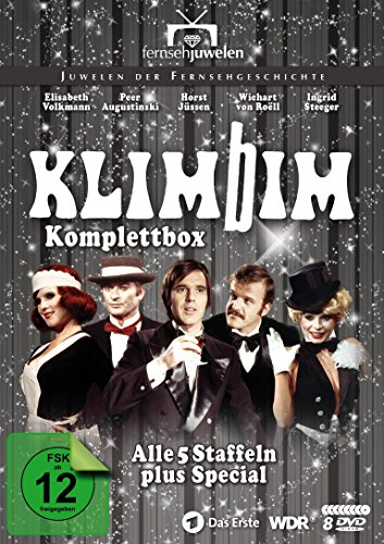 Komplettbox (Alle 5 Staffeln plus Special) (8 DVDs)