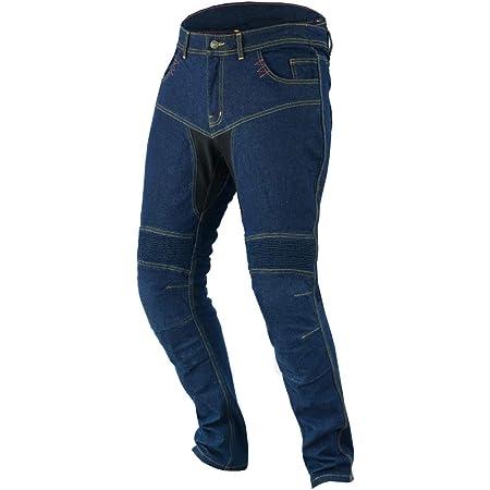 Jet Motorradjeans Motorradhose Jeans Kevlar Herren Aramid Stretch Mit Protektoren Tech Pro 62 Regulär Weite 46 Länge 32 6xl Blau Auto