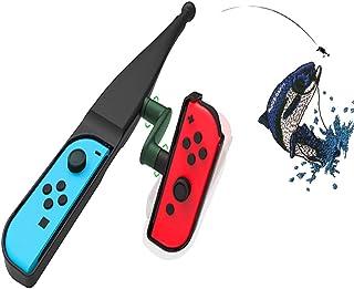 MaxKu 体感釣り竿 Nintendo Switch Joy-con用 体感コントロールゲーム 任天堂スイッチコントローラ用 釣りロッド 釣りスピリッツ対応