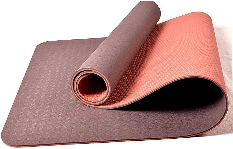 Einfache und leichte Yoga-Matte, rutschfeste Fitness, Tanzen, Outdoor, tragbar, Baby Krabbeln Faltbare 6 Farben optional