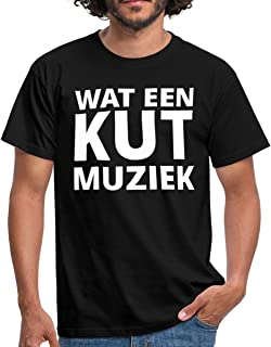 Spreadshirt Wat Een Kut Muziek Koningsdag Feestje Mannen T-shirt