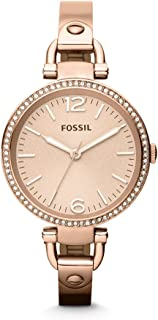 Fossil for Women - Casual Stainless Steel Band Watch - ES3226