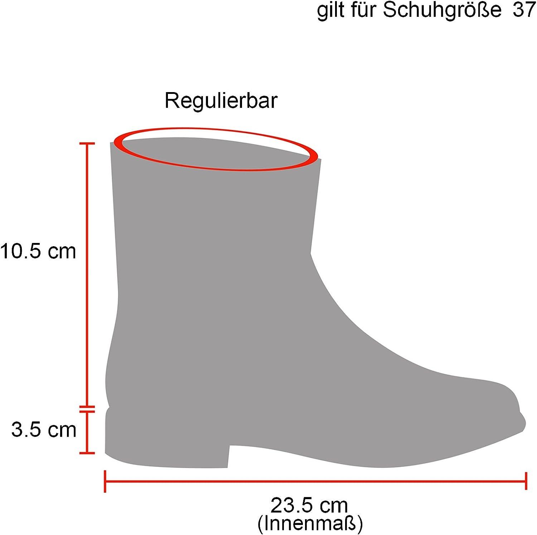 stiefelparadies Unisex Damen Herren Stiefeletten Worker Boots /Übergr/ö/ßen Warm Gef/üttert Flandell
