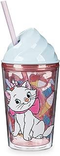 Disney Marie Aristocats Cat Ice Cream Dome Tumbler with Straw