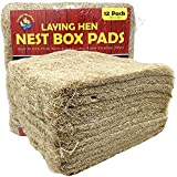 """Cackle Hatchery Laying Hen Nest Box Pads - 13"""" x 13"""" (12 Pack)"""