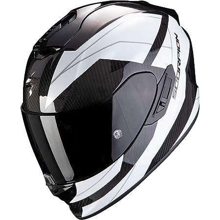 Scorpion Herren Nc Motorrad Helm Weiss Schwarz L Auto