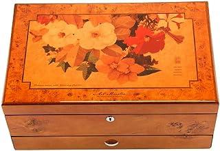 Sculpture,Coffres De Rangement Piano Peinture Boîte À Bijoux Bracelet Collier Anneau Montre Boîte De Rangement Cadeau De M...