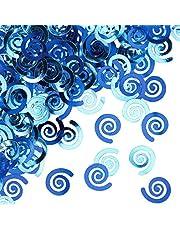 قصاصات ورقية لامعة ملفوفة من كرياتيف كونفيرتينغ، لون ترو بلو