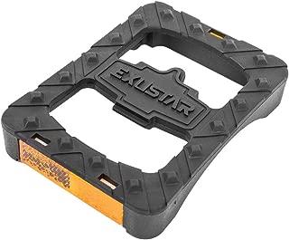 Exustar Clipless Adapter SPD Platform Pedal with Reflector