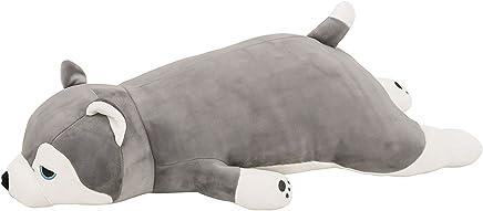 featured product LivHeart Nemu Nemu Animals Husky Mint Body Pillow (M) 48769-72 from Japan