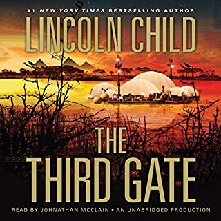 The Third Gate audiobook cover art