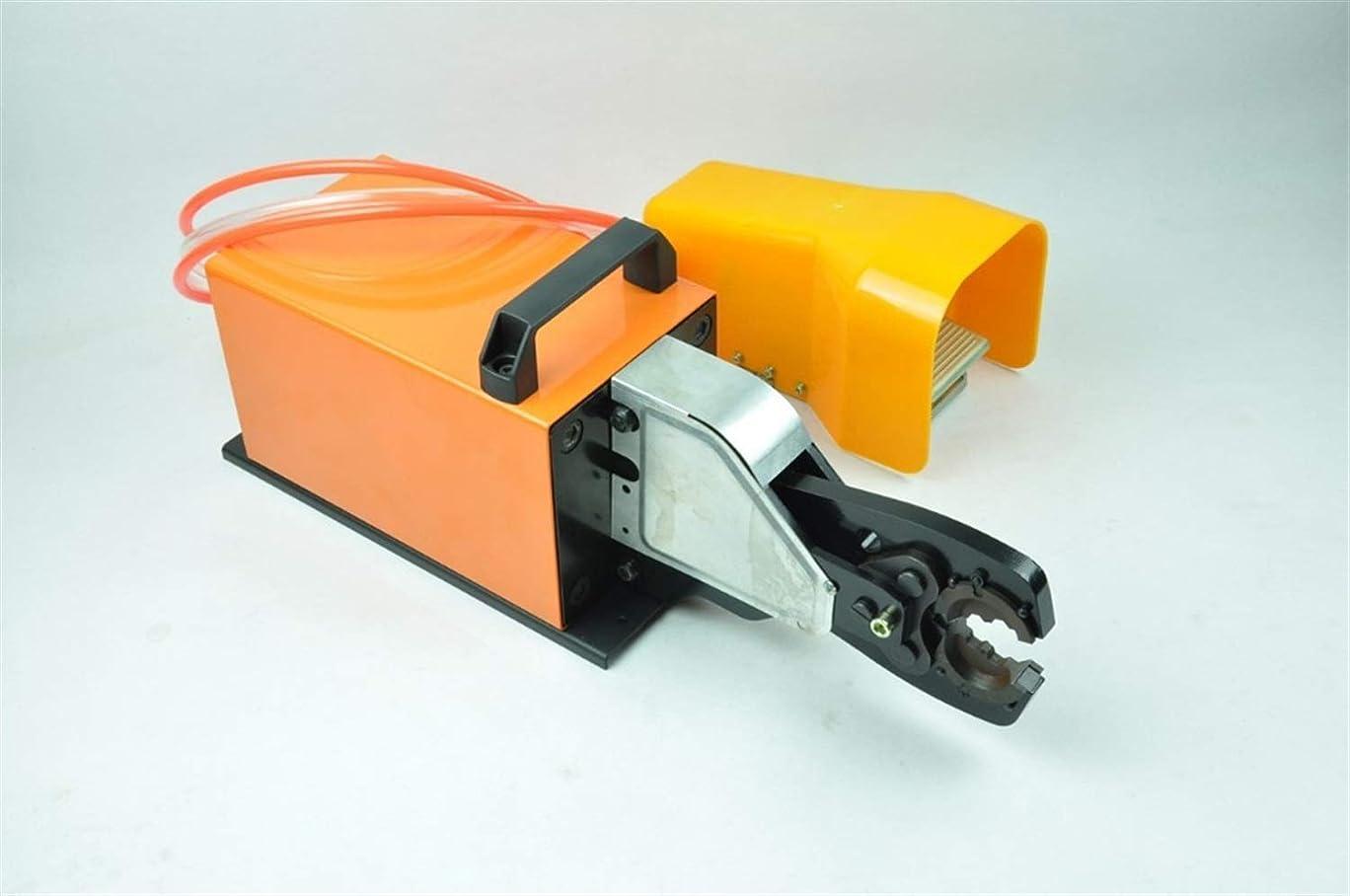 聴衆撤回するスリップ圧着工具 非絶縁型ケーブルラグ端子圧着用圧着工具6?70mm2 絶縁被覆付 ペンチ
