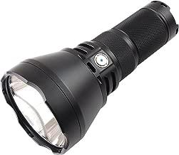 ThruNite TN42 2000 Lumen CREE XHP 35 Hi LED Flashlight Black Powered by 4 x 18650 Batteries(Cool White)