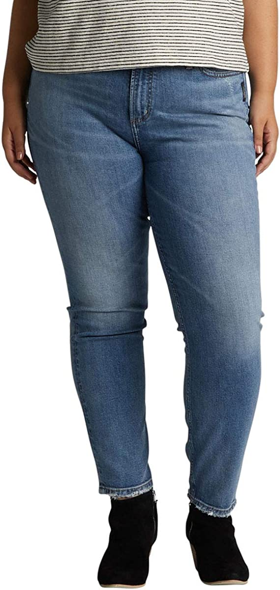 Silver Jeans unisex Co. Women's Plus Size Tape Ranking TOP19 Frisco Vintage High Rise