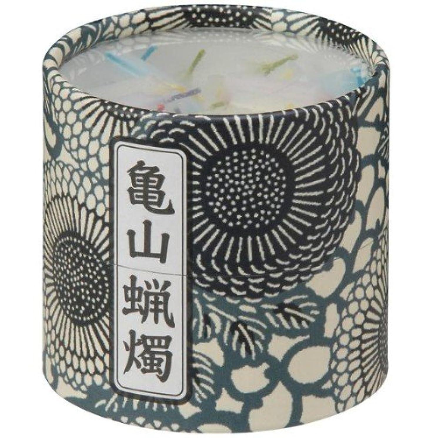 不振シール罰する亀山五色蝋燭(小) 約130本入り