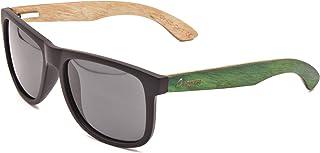 Wood Kiwi: occhiali da sole in legno, polarizzati, UV400, unisex