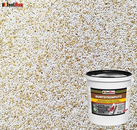 Buntsteinputz Mosaikputz BP60 (weiss,sand/gelb) 25kg Absolute ProfiQualität