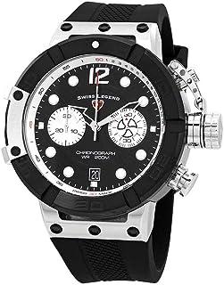Swiss Legend Triton Chronograph Black Dial Men's Watch SL-10719SM-01-BB