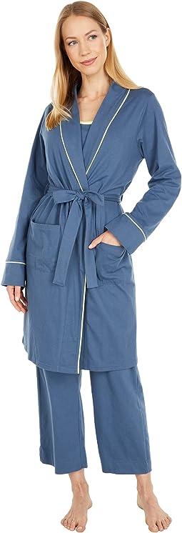 Organic Cotton Pocket Robe