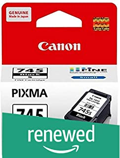 (Renewed) Canon PG-745s (Small) Ink Cartridge (Black)