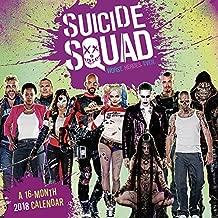 Suicide Squad 2018 Wall Calendar