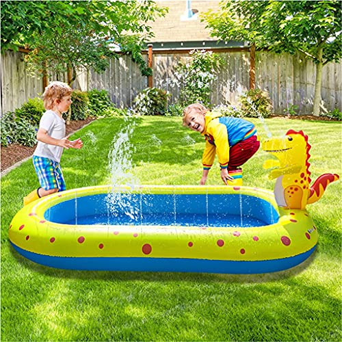 GJXJY Piscinas Hinchables Infantiles con Rociadores Splash Pad,Piscina Inflable Infantil Balcon,para NiñOs JardíN Y Al Aire Librel