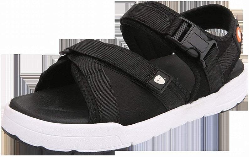 Hhor Chaussures de Plage décontractées pour Hommes en Plein air (Couleuré   Noir, Taille   39)
