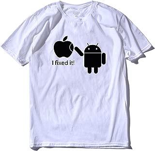 100% Cotton Cool Men Funny T Shirt Casual Short Sleeve Sport Summer Loose Men Funny Tshirt